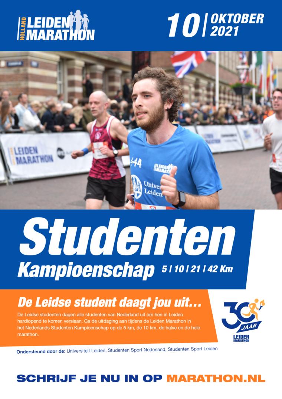 Leiden Marathon 10 oktober 2021