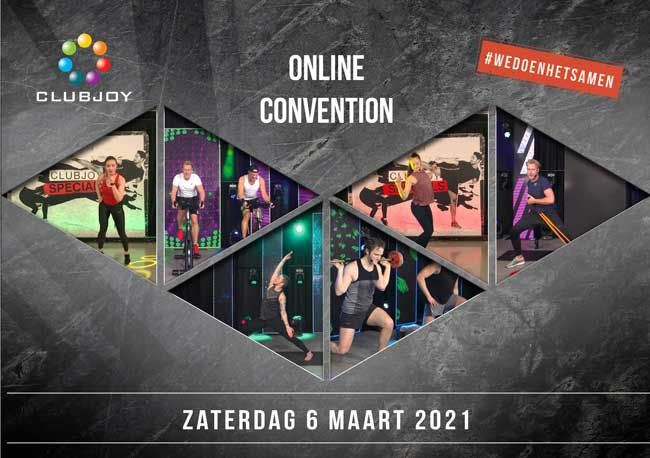 Club Joy convention 2021 op zaterdag 6 maart