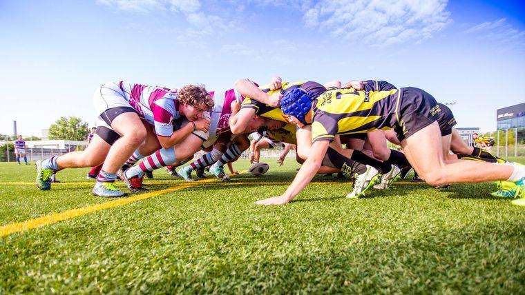 58e Dies Natalis van het Leids Studenten Rugby Gezelschap