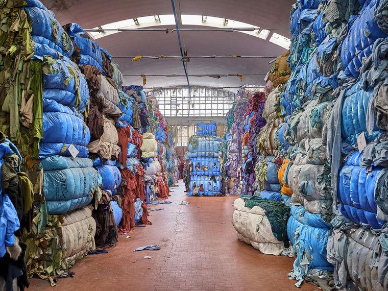 Duurzaam shop gedrag - kleding recyclen